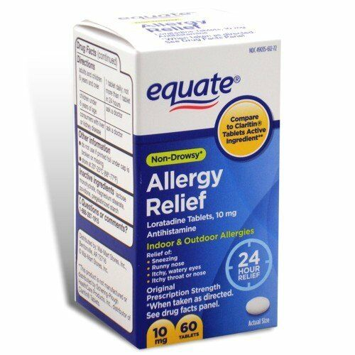 Image Result For Equate Allergy Relief Loratadine Tablets Mg