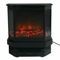 23 Electric Fireplace 1500W Adjustable Heater Fire ...