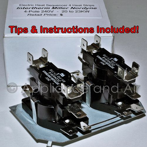 small resolution of details about el sequencer 15sh22 15sh44 309510 heat relay 20kw 4 stage furnace instructions