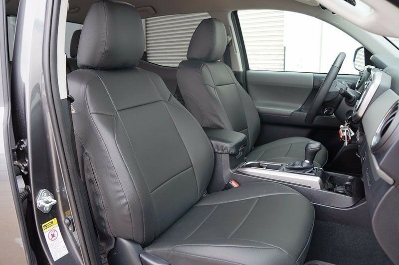Toyota Tacoma 2016 Charcoal Sleather Custom Made Fit