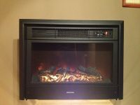 "RV ELECTRIC FIREPLACE 26"" WITH REMOTE AND FRONT 