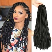 "18"" dreadlock faux locs braid hair"
