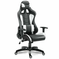 High Back Executive Racing Reclining Gaming Chair Swivel ...