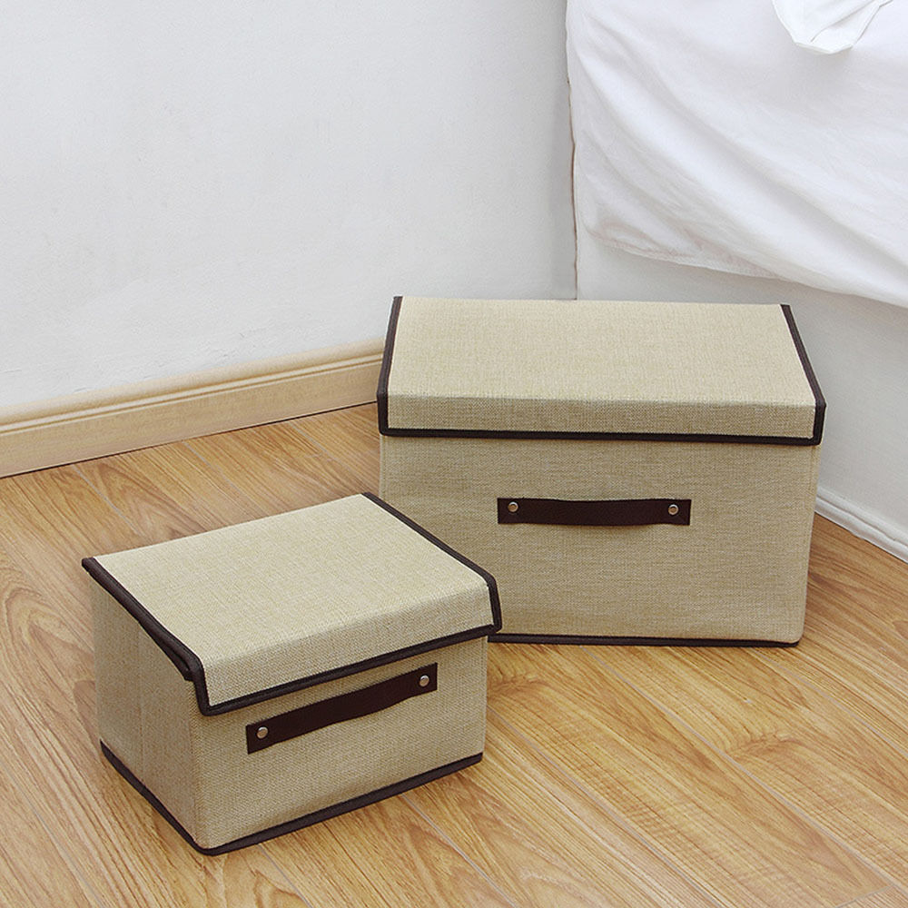 Clothing Storage Boxes With Lids