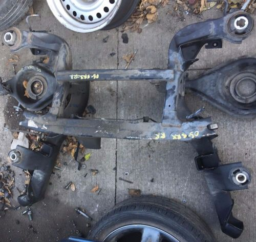 small resolution of details about 2004 2005 2006 2007 cadillac srx rear crossmember k frame