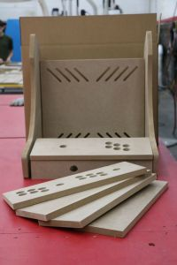 T-Molding Cuts Included! - MDF Bartop Arcade Cabinet - Do ...