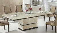 American Eagle DT-H28 Tan Marble Top Dining Table | eBay