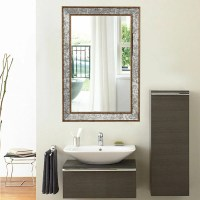 "36"" Wall Mirror Beveled Rectangle Vanity Bathroom"