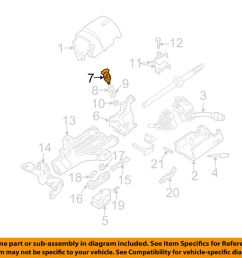 details about ford motorcraft sw6383 oem ignition lock cylinder 1l3z 11582 a factory 1996 2010 [ 1000 x 798 Pixel ]