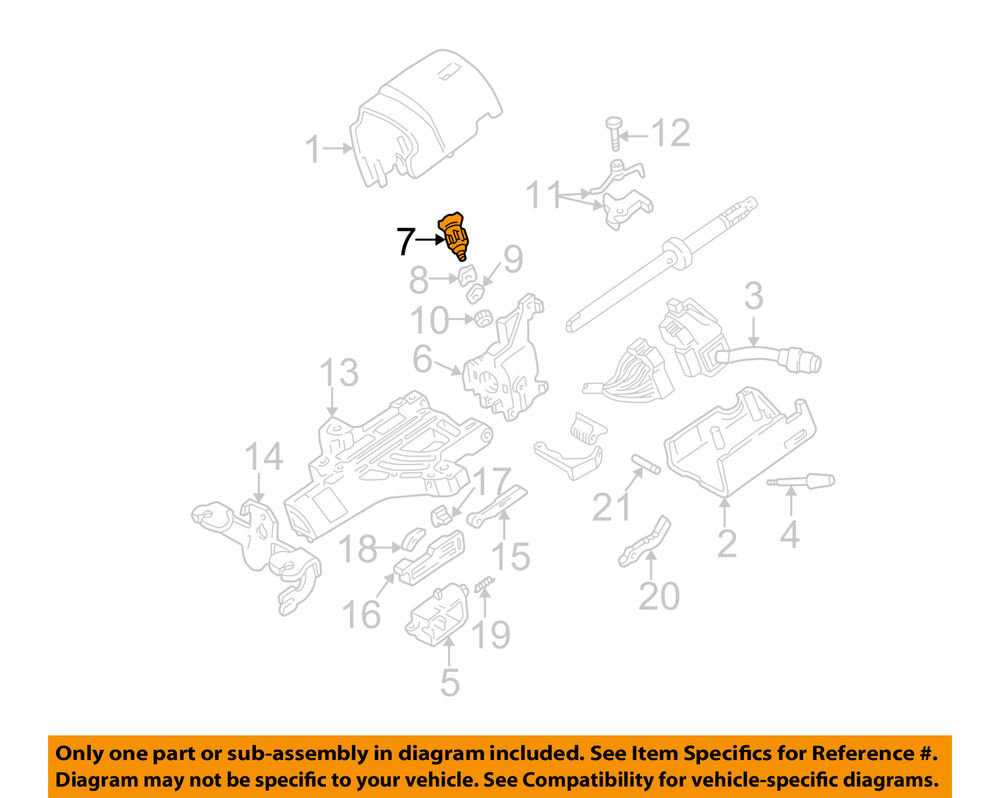 medium resolution of details about ford motorcraft sw6383 oem ignition lock cylinder 1l3z 11582 a factory 1996 2010