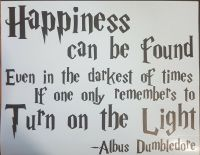 Happiness can be found even in the darkest of times Sign ...