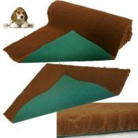 VET BEDDING for Dogs Bedding Fleece Bed Brown Pet Bed ...