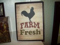Farm Fresh sign Kitchen wall decor French Country ...