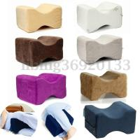Memory Foam Knee Leg Wedge Pillow Back Bed Cushion Pain ...