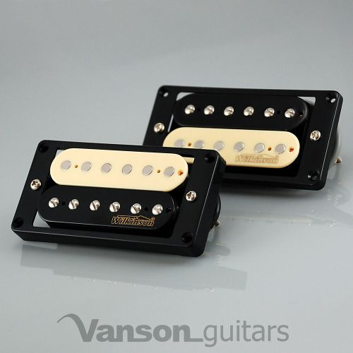 small resolution of details about new wilkinson hot zebra humbucker pickup set for gibson epiphone mwhz bk