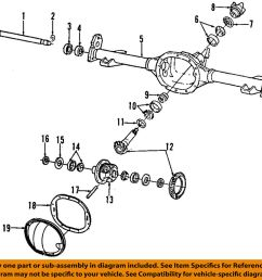 details about gm oem rear axle seals 26011061 [ 1000 x 945 Pixel ]