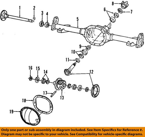 small resolution of details about gm oem rear axle seals 26011061