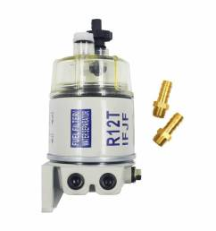 details about new with fittings marine spin on fuel filter water separator r12t for racor [ 1000 x 1000 Pixel ]