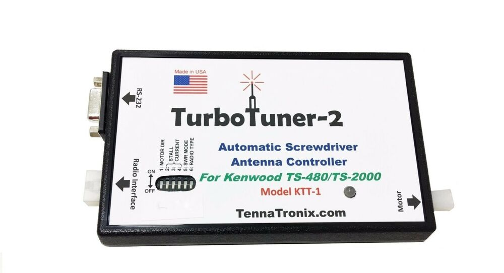 Turbo Tuner 2 Antenna Tuner for Kenwood TS-480 Series