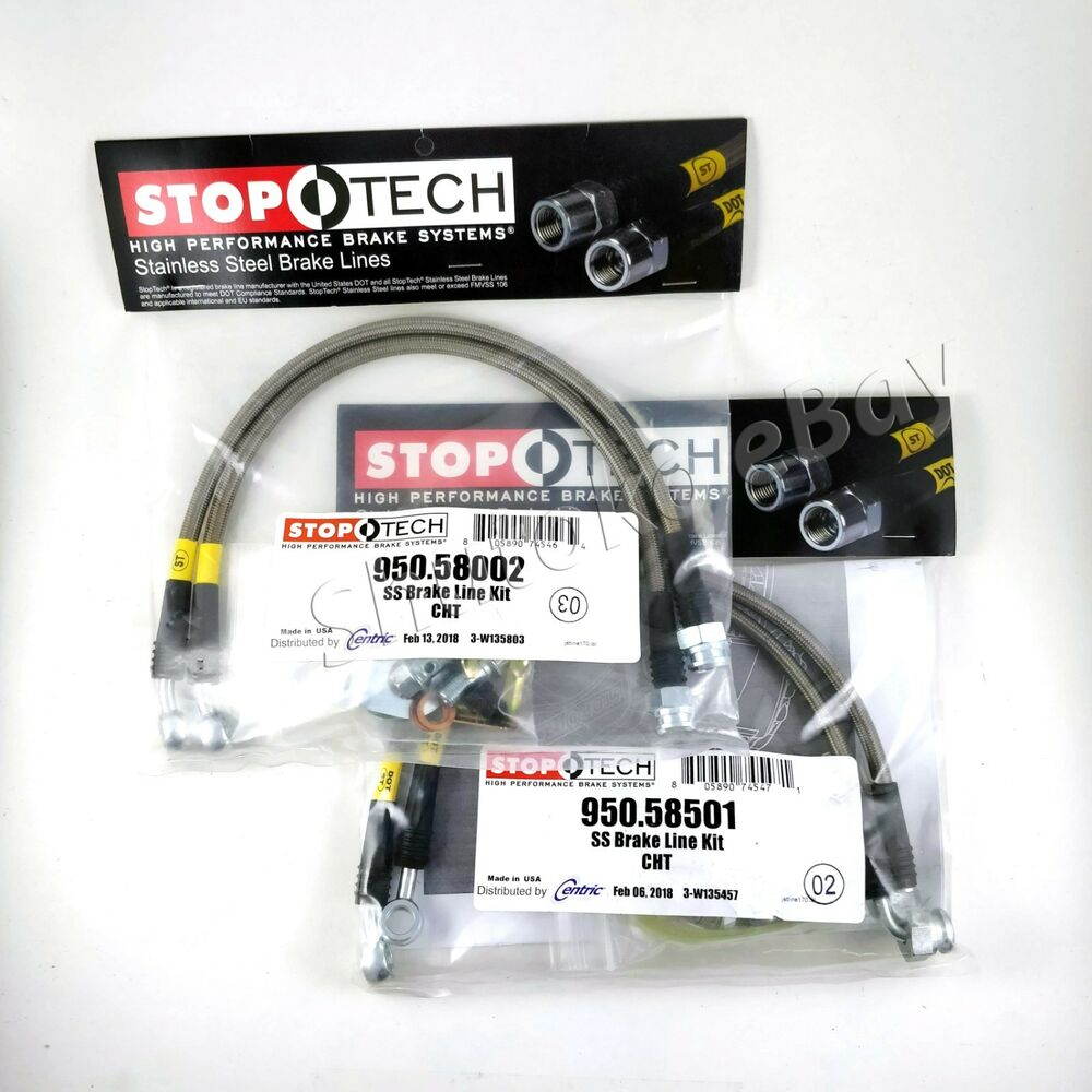 hight resolution of details about stoptech ss braided front rear brake lines for 06 10 jeep grand cherokee srt8