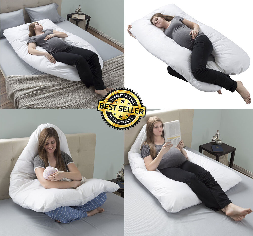 Pregnancy Pillow Full Body Maternity Pillow With