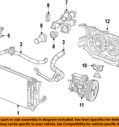 details about chrysler oem engine coolant thermostat housing 68003582ab [ 1000 x 839 Pixel ]