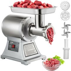Home Electric Fleischwolf Plot Diagram Activity Commercial Grade 1hp Meat Grinder 750w Stainless Steel Details About Heavy Duty 22