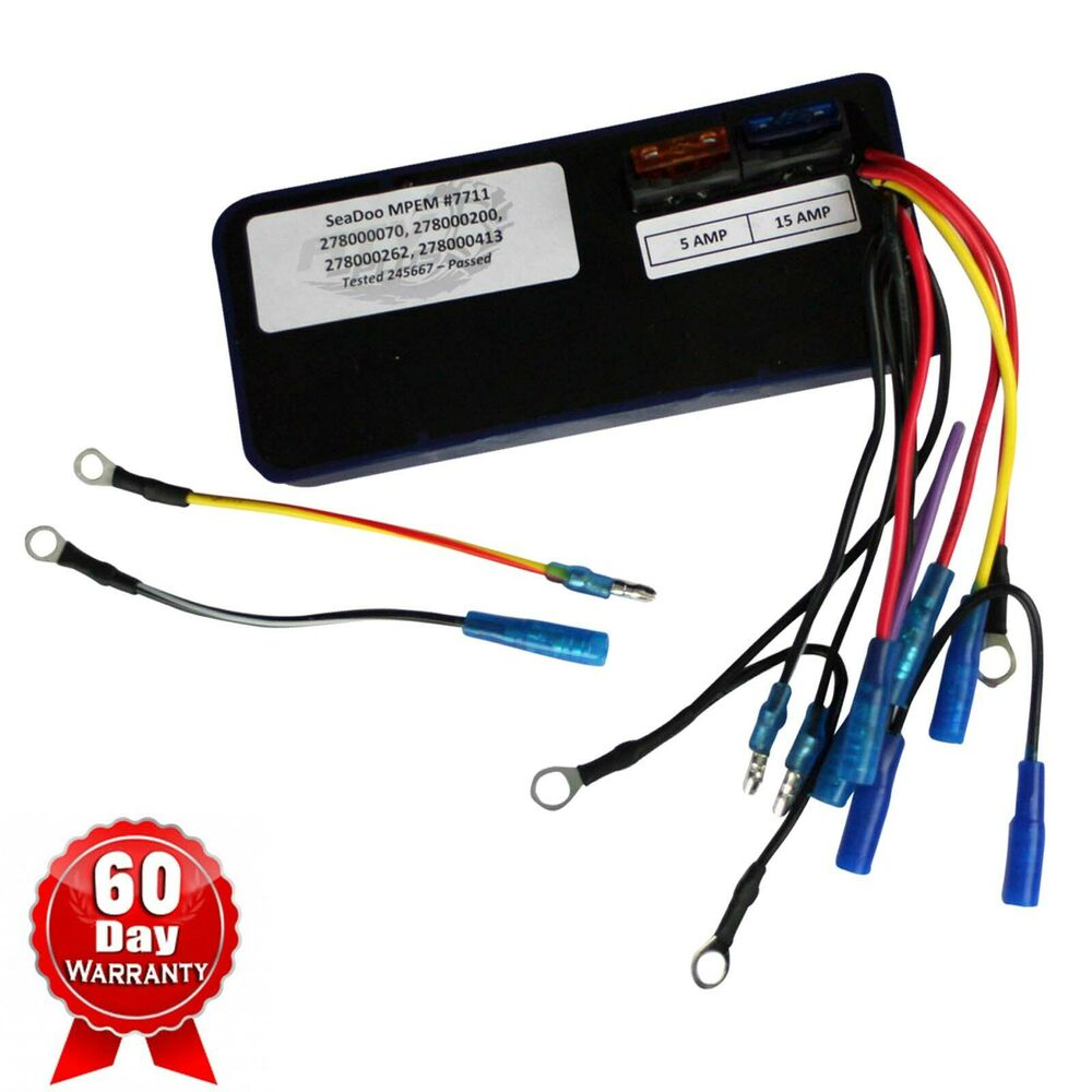 hight resolution of details about seadoo mpem box cdi ignition module sp spx gts gtx xp 1992 1993 1994 92 94