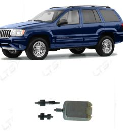 jeep grand cherokee jeep cherokee liberty side mirror folding motor and gear set [ 1000 x 1000 Pixel ]