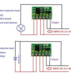 details about 6a bistable flip flop latch switch circuit module button trigger led relay motor [ 900 x 900 Pixel ]