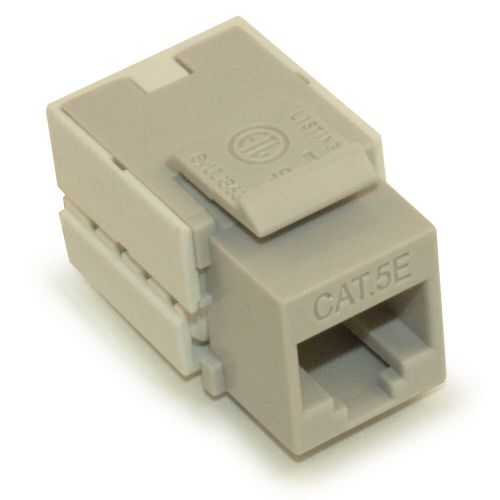 small resolution of details about wall plate keystone jack cat 5e rj 45 networking gray