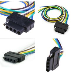 details about 36 inch 5 pin truck pickup trailer cable extention adpater light wiring harness [ 1000 x 1000 Pixel ]