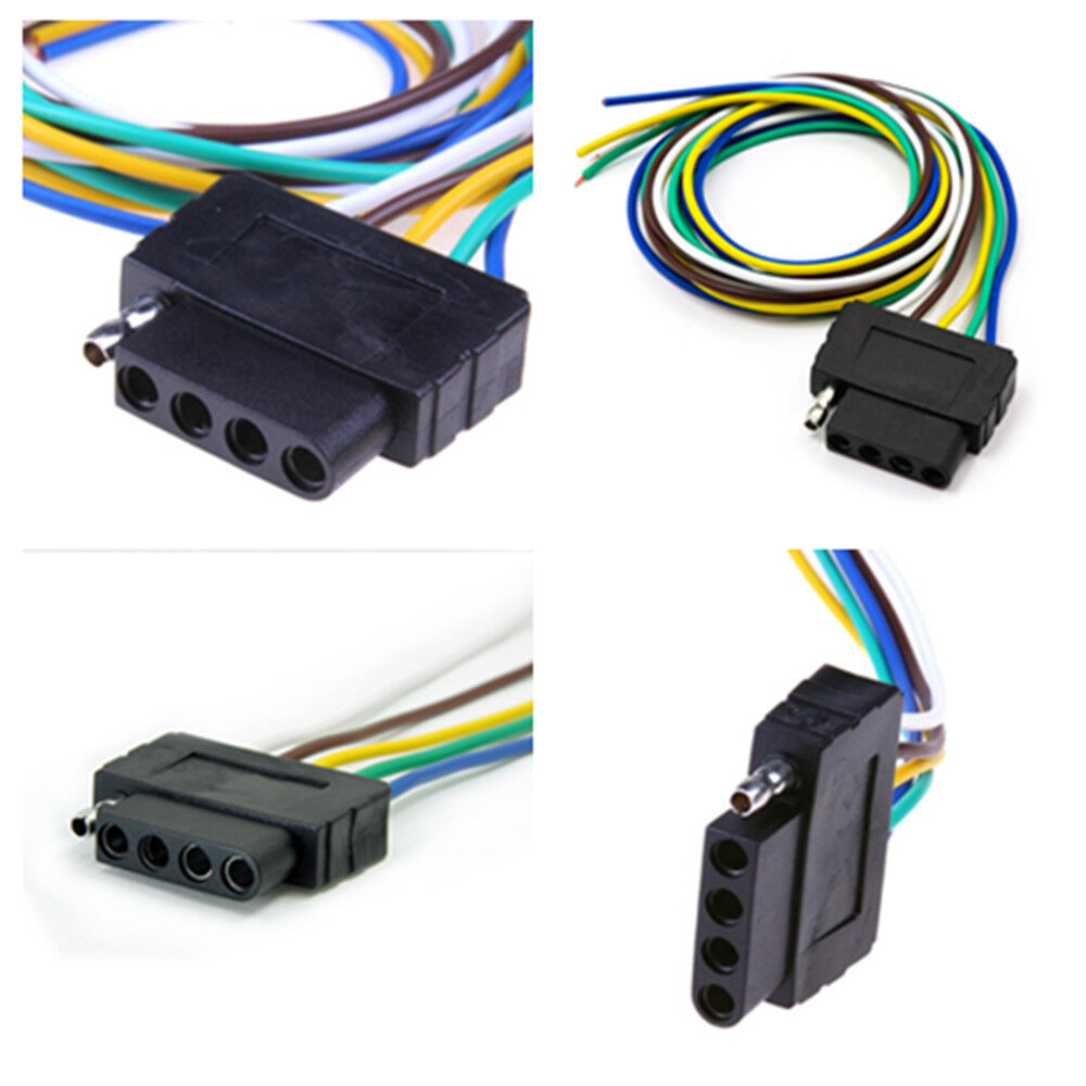 hight resolution of details about 36 inch 5 pin truck pickup trailer cable extention adpater light wiring harness