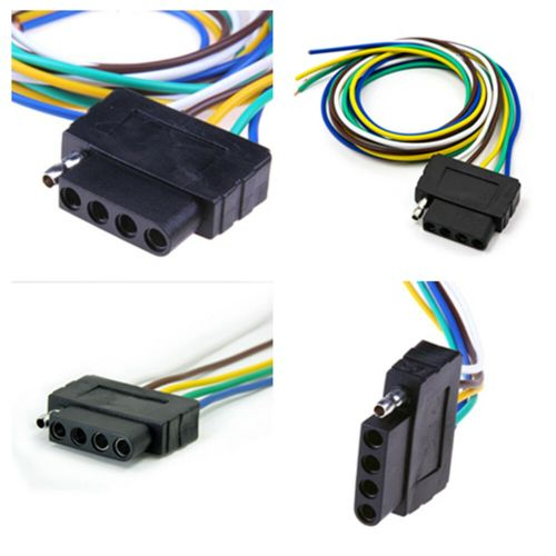 small resolution of details about 36 inch 5 pin truck pickup trailer cable extention adpater light wiring harness