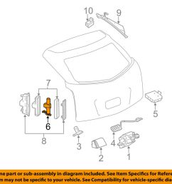details about cadillac gm oem 10 15 srx liftgate tail tailgate trunk pump 25965861 [ 1000 x 798 Pixel ]
