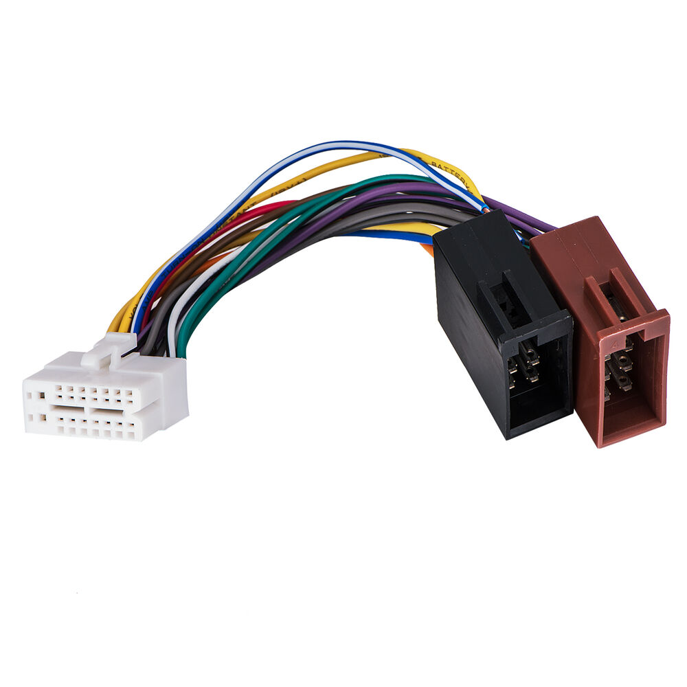 hight resolution of details about for clarion 16pin stereo radio iso wiring wire harness skcl16 21 iso