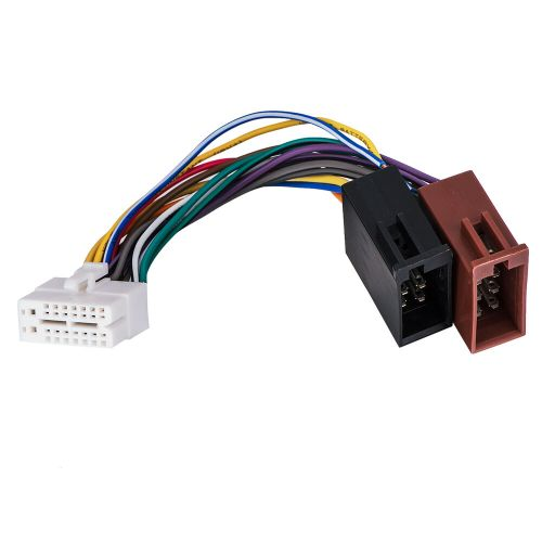 small resolution of details about for clarion 16pin stereo radio iso wiring wire harness skcl16 21 iso