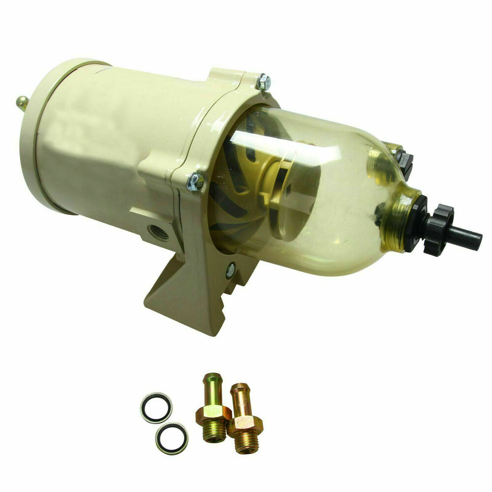 hight resolution of details about new 500fg 500fh diesel marine boat fuel filter water separator w bolt ring