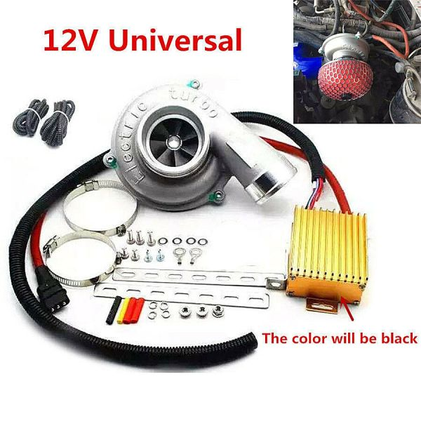 Car Electric Supercharger Turbo Kit Turbocharger - Year of Clean Water