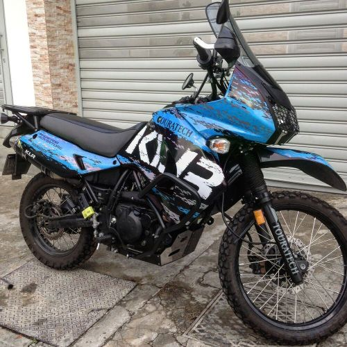 small resolution of details about kawasaki klr650 decals graphics adventure blue 2008 2017