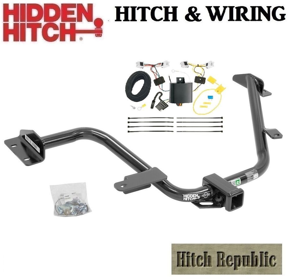 hight resolution of details about fits 2013 2017 nissan nv200 class 3 trailer hitch tow wiring 87662