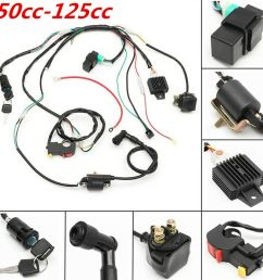 details about cdi wiring stator assembly electric ignition coil harness kit 50 125cc atv quad [ 900 x 900 Pixel ]