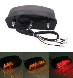 details about led smoke turn signal tail light for ducati monster 900 1000 s2r s4 s4r s4 94 08 [ 1000 x 1000 Pixel ]