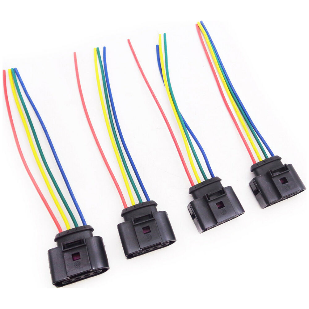 medium resolution of details about 4x ignition coil wiring harness for vw new beetle passat polo cppc26wirx4vw