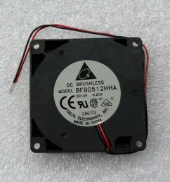 details about delta bfb0512hha 50mm x 10mm blower fan 12v dc 2 wire bare leads [ 1000 x 916 Pixel ]