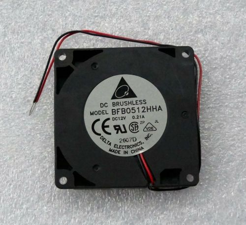 small resolution of details about delta bfb0512hha 50mm x 10mm blower fan 12v dc 2 wire bare leads