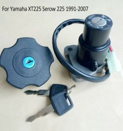 details about for yamaha xt225 serow 225 91 07 ignition switch lock key fuel gas cap parts bcl [ 1000 x 1000 Pixel ]