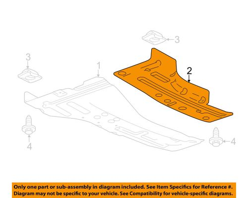 small resolution of details about chevrolet gm oem cruze splash shield under engine radiator cover left 23451794