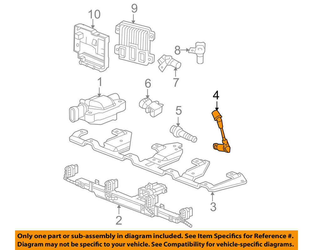 hight resolution of details about gm oem ignition spark plug wire set 19351592