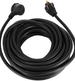 details about 50 220 volt 50 amp heavy duty 10 3 welder extension cord with outlet and plug [ 1000 x 1000 Pixel ]